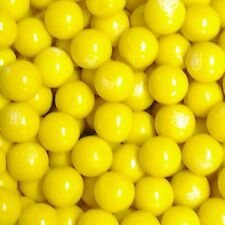 """Dubble Bubble / Concord Yellow Banana Flavored 1"""" Gumballs  2  Lbs"""