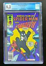 Marvel Team-Up #141 CGC 9.2 White Pages 1st Black Suit Canadian Price Variant