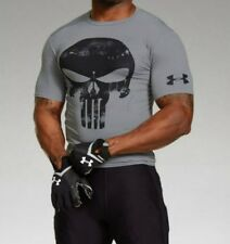 Under Armour® Alter Ego Punisher Compression Shirt GARY Color Free Shipping