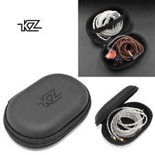 2018 New KZ Headphone Bag Portable Headphone Storage Box For KZ Headphones Black