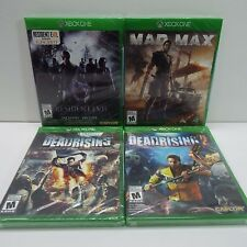 MIXED LOT OF 4 SEALED GAMES FOR XBOX ONE / RESIDENT EVIL (LOOK DESC.) F300