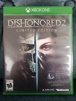 Dishonored 2: Limited Edition (Microsoft Xbox One, 2016) **READ DESCRIPTION**