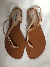 Women's Steve Madden Hamil Strap Sandals Nude Size Uk 4.5 (37.5 )- New