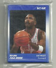 1990 Star Company Detroit Pistons 14-card Basketball Team Set  Mark Aguirre