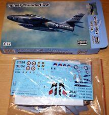RF-84F Thunderflash (IT,BE,USAF,NL decals) in 1/72 von Sword