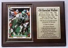 Philadelphia Eagles Herschel Walker Football Card Plaque
