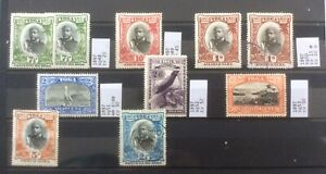 Tonga 1897 Set To 5/-. Unchecked For Watermarks Or Perfs. Cv 240 In 2017