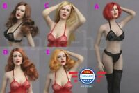 1/6 scale Sexy Lady Head Sculpt GC017 for 12'' Female Figure Doll PHICEN