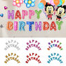 GOLD PINK MULTI HAPPY BIRTHDAY SELF INFLATING BALLOON BANNER BUNTING PARTY DÉCO