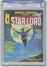Marvel Preview #4 CGC 8.5 HIGH GRADE Comic Magazine KEY 1st Star-Lord App
