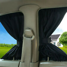2X Universal Car Sun Shade Side Window Curtain Foldable Sunshade UV Protection