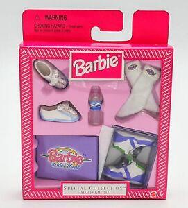 NIP 1998 Mattel Barbie Special Collection Sport Gear Set High Tops Socks NEW