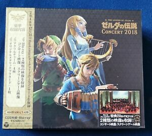 The Legend Of Zelda Concert 2018 2CD + Blu-ray Limited Edition neuf - New