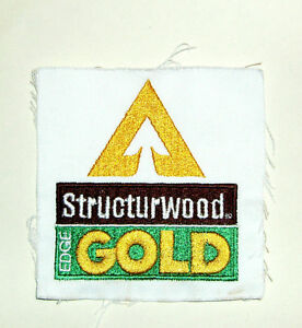 Building Material Patch Structurwood Edge Gold - Trademark of Weyerhaeuser