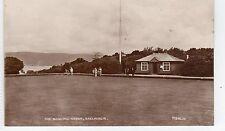 BOWLING GREEN, SKELMORLIE: Ayrshire postcard (C8109)