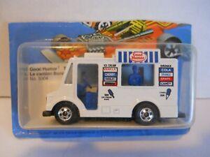 1983 Hot Wheels #5904 Good Humor Truck Cut Card MOC MIP