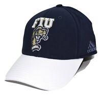 FIU Golden Panthers adidas NCAA 2 Tone Blue & White Flex Fit Cap Hat L/XL