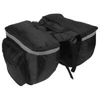 Bike Waterproof Rear Storage Bag Bicycle Back Rack Pouches Bike Saddle Bag X5S3