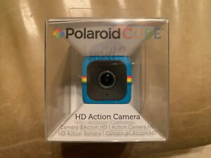 Polaroid Cube HD 1080p Lifestyle Action Video Camera (Blue) NEW & FACTORY SEALED