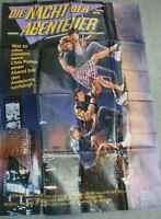 Kinoplakat Nacht der Abenteuer  - Film v. Chris Columbus 1987 - 120 x 84 cm /250