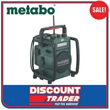 Metabo Cordless Worksite Radio with Inbuilt Charger RC 14.4-18 - 602106190