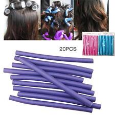10Pcs Women Hair Curlers Makers Soft Foam Rollers Bendy Twistee Sponge DIY Tool