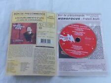 LES HURLEMENT D'LEO - MONOFOCUS - L'HERBE FOLLE !RARE  PRESS PACK +cd