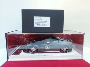 D&G 1/18 SVR F12 Berlinetta Matt Metallic Grey w/Decals Lim:12pcs #18071