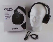 Sony MDR-XB950BT Wireless Stereo Bluetooth Extra Bass Headphones black #LLkku