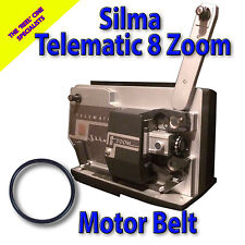 SILMA telematico 8 Zoom Super 8mm CINE PROIETTORE Belt (motore principale Cintura)