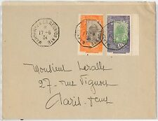 French Colonies: DJIBOUTI -  POSTAL HISTORY - COVER to FRANCE 1936 - PAQUEBOT