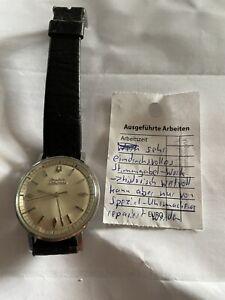 Bulova Accutron Armbanduhr Herrenuhr defekt Ø3,5cm