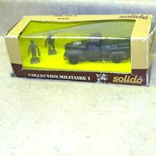 Vintage Solido Dodge Pick-Up Army, In Box, France, Collection Militaire I