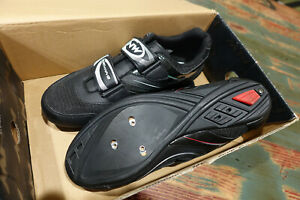 Northwave NW Jet Road Bike Cycling Shoes Mens US Size 6.5 EUR 38 Black New