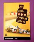 Offizielles Formel 1 Rennprogramm Grand Prix Österreich 1997 Schumacher Ferrari