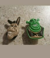 Lot 2 Shrek shoe charms for Crocs shoes. Other uses Craft, Scrapbook