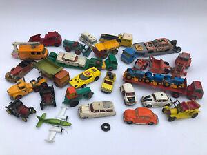 (2) Konvolut alte Modellautos 1:43 * Siku V, Matchbox, Corgi u.a. Spielzeugautos