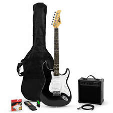 More details for tiger beginners full size electric guitar pack, inc tuner, amp, bag, strap-