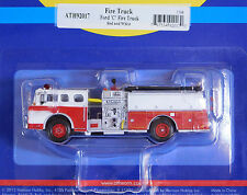 Athearn 1/87 HO Ford C Fire Truck Red And White 92017 PLASTIC SCALE REPLICA