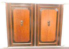 vintage* RCA VICTOR ELECTROLA VE 7-26X:  High Gloss FRONT DOOR SET - 22 h x 28w