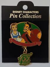 Japan Disney 100 Years of Magic Beauty and the Beast Pin Le 1500