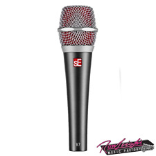 sE Electronics V7 Super Cardoid Dynamic Vocal Microphone with Pouch and Clip