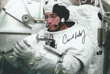 Carl Walz auto/signed Astronaut Expedition 4 NASA RARE COA LOOK!