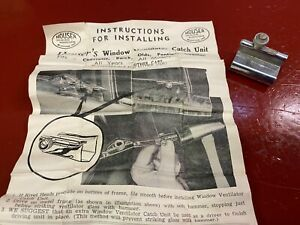 VINTAGE CHEVY BUICK OLDS PONTIAC CADILAC VENT WINDOW VENTILATOR CATCH UNIT