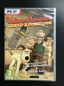 Wallace & Gromit's Grand Adventures Episode 1 & 2 - PC Game - New And Sealed