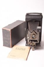 Camera Folding Kodak Autographic N°3 with Original Case and Instruction