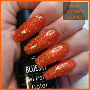 Bluesky Gel Polish BLZ36 Autumn Leaves UV/LED Soak Off Nail Gel Polish 10ml