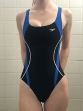 Speedo womens female girls swimsuit size 28 open back suit swimskin Lycra