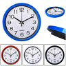 HOT Silent Wall Clock Simplicity  Round Quartz Bell Battery Operated Wall Clock