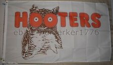 Hooters Restaurant 1983-2013 White 3'x5' Flag Banner - USA Seller Shipper